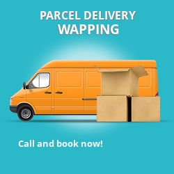 E1 cheap parcel delivery services in Wapping