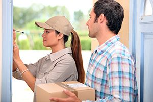 Swanley package delivery companies BR8 dhl