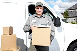Bexley package delivery companies DA15 dhl
