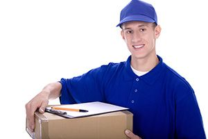 business delivery services in Crich