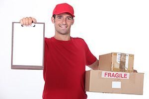 Whitechapel package delivery companies E1 dhl