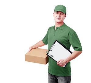 Shoreditch package delivery companies EC1 dhl