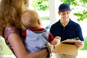 Kingston upon Thames package delivery companies KT2 dhl