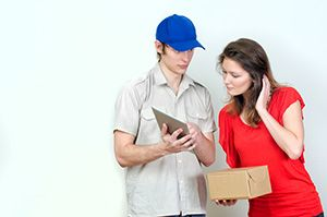 Liverpool package delivery companies L36 dhl