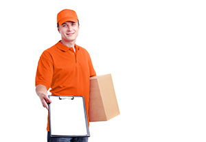 Barnsbury package delivery companies N1 dhl