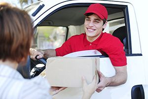Friern Barnet package delivery companies N11 dhl
