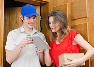 Manor House package delivery companies N4 dhl