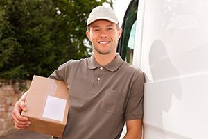 Renfrewshire package delivery companies PA4 dhl