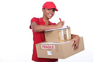 Chadwell Heath package delivery companies RM6 dhl