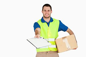 West Ealing package delivery companies W5 dhl