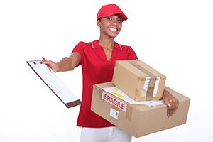 Hanwell package delivery companies W7 dhl