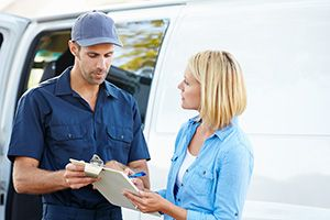 international courier company in Brent