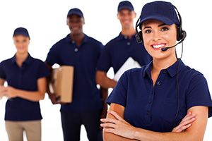 international courier company in Brondesbury