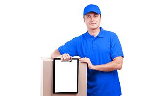 courier service in Little Paxton cheap courier