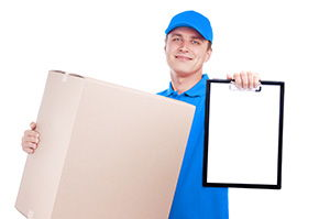 courier service in North Woolwich cheap courier