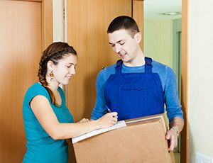 international courier company in Ryton