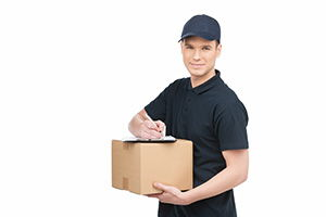 international courier company in Tullibody