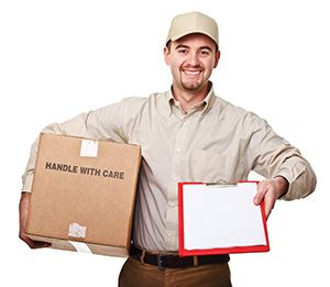 international courier company in West Tilbury